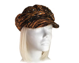Newsboy Glitter Cap - 2 Colors
