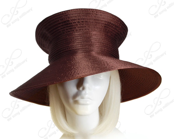 Mr. Song Millinery All-Season Mushroom Crown Wide Brim Hat Body - Assorted Colors