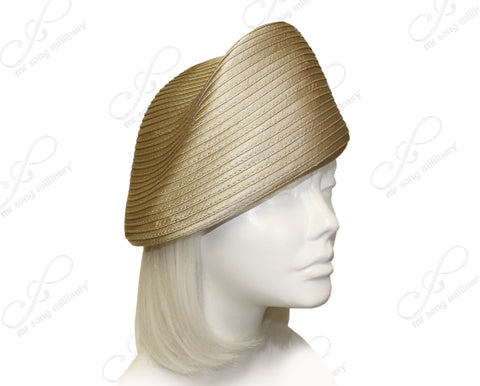 Satin-Crin Beret Cloche Hat Body - Assorted Colors