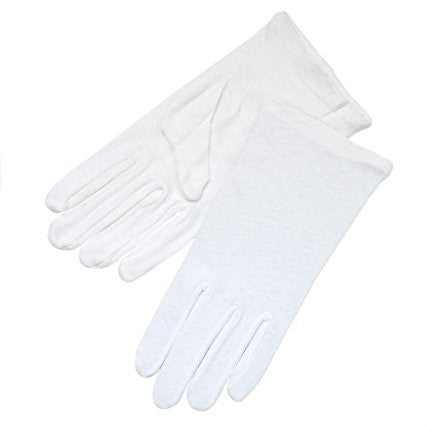 Cotton White Gloves -XL