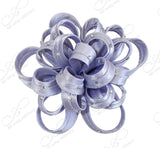 Satin-Crin Ribbon Flower - Assorted Colors