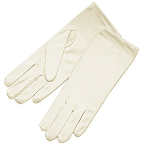 Polyester Ivory Gloves - XL