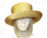 All-Season Satin-Crin Turned UP Brim Hat Body - Assorted Colors