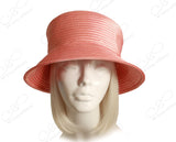 All-Season Satin-Crin Tiffany Brim Hat Body - 3 Colors