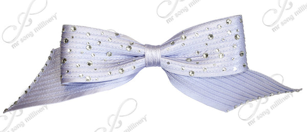 Mr. Song Millinery Satin-Crin Rhinestone Knot Bow - Assorted Colors