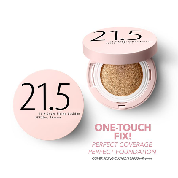 Mr. Song Millinery Cover Fixing Foundation CC Cushion Compact SPF50+ PA+++