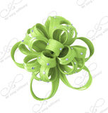 Satin-Crin Flower Corsage Brooch Hat Pin - Assorted Colors