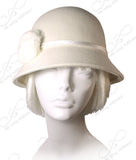 Soft As Cashmere Felt Bucket Cloche - 3 Colors