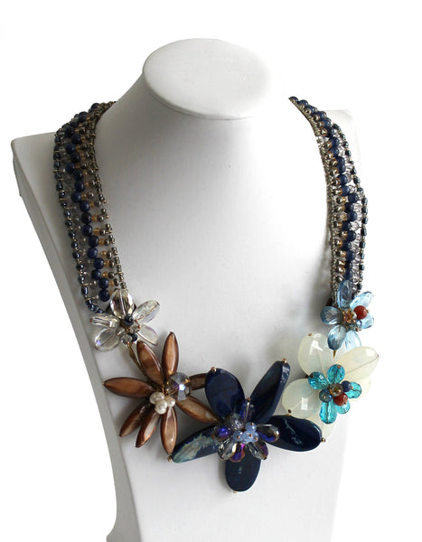 Mr. Song Millinery Gorgeous Necklace And Earring Set