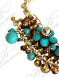 Necklace | Earrings Set - Turquoise
