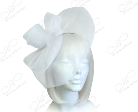 All-Season Crin Veil Fascinator Headpiece - 2 Colors
