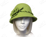 Softest Felt Bell Cloche Bucket Hat - 2 Colors