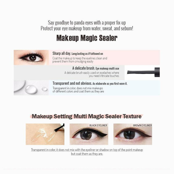 Mr. Song Millinery Makeup Setting Multi Magic Sealer - So Natural
