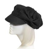 Newsboy Bow Cap - 2 Colors