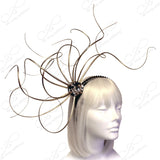 Meduse Amuse Duo Bijou Fascinator Headband - 2 Colors
