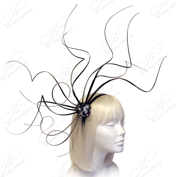 Mr. Song Millinery Meduse Amuse Fascinator Headband - 2 COLORS