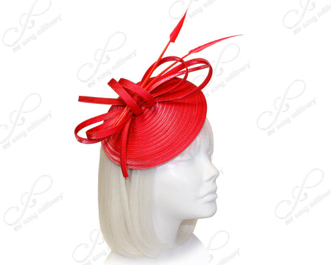 Royal Ascot Derby Dish Beanie Fascinator Headband - 3 Colors