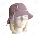 Bell Cloche Straw-Tagline Bucket Hat - 2 Colors