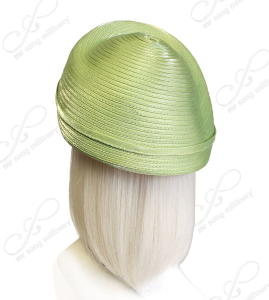Mr. Song Millinery Beret Cloche Hat With Simple Accent - Assorted Colors