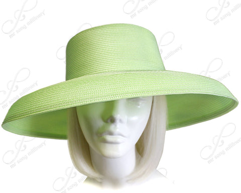 Tagline Straw Wide Structured Brim Hat Body - Assorted Colors