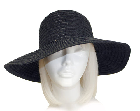 Mr. Song Millinery Shimmery Chenille Wide Brim Hat - 2 Colors
