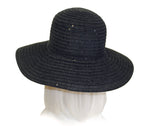 Shimmery Chenille Wide Brim Hat - 2 Colors