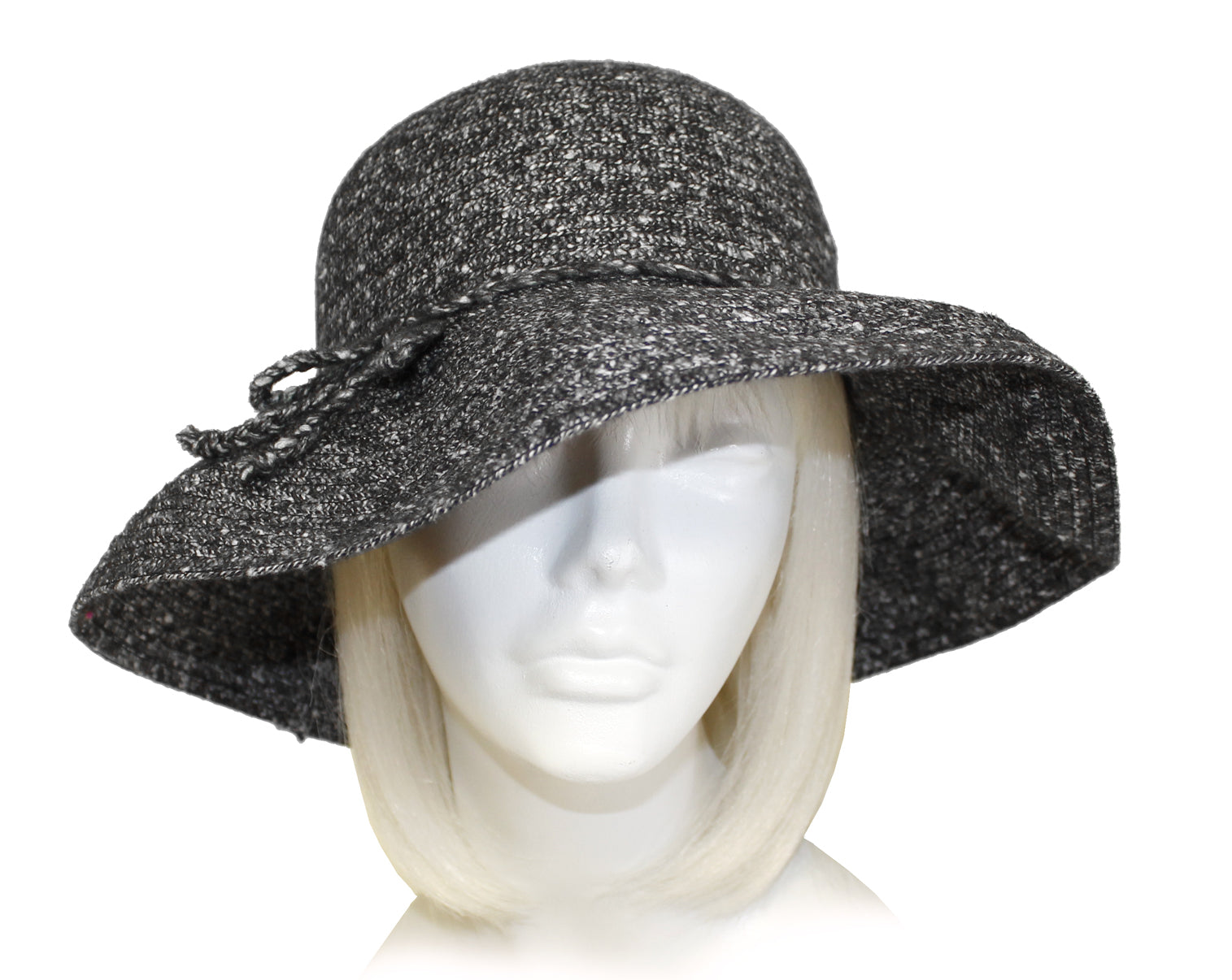 Mr. Song Millinery Chenille Wide Brim Hat - 3 Colors