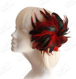 Feather Fascinator Hairclip - 2 Colors