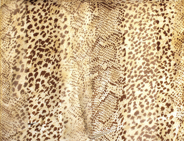 Mr. Song Millinery Animal Print Satin Scarf - Animal Print Assorted Colors
