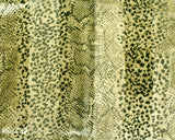 Animal Print Satin Scarf - Animal Print Assorted Colors
