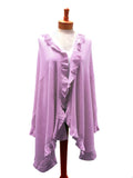 Shawl Wrap Ruffled Edging - Assorted Colors