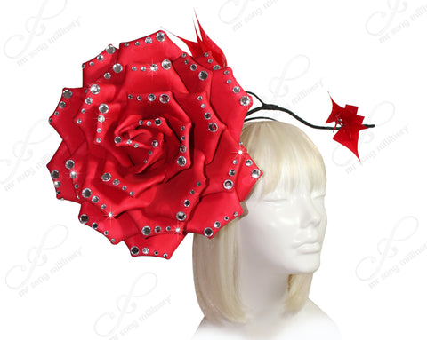 Mr. Song Millinery Peony Flora Fascinator Headband