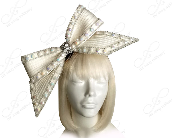 Knot Ribbon Bow Fascinator Headband - 3 Colors