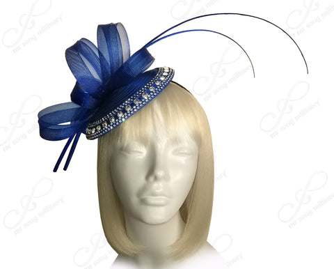 All-Season Profile Petite Dish Fascinator Headband - 3 Colors