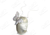 Papillon Butterfly Profile Fascinator Headband - 2 COLORS