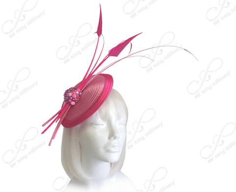 Profile Dish Beanie Fascinator Headband - 5 Colors
