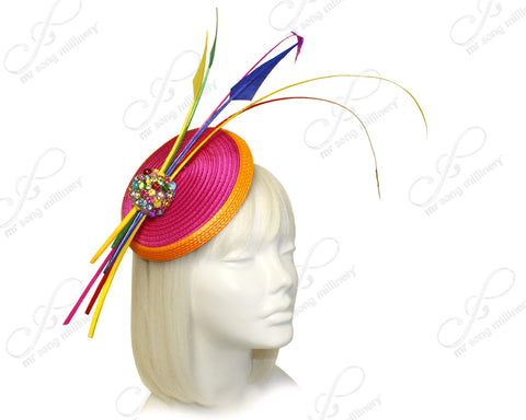Profile Dish Beanie Fascinator Headband - 4 Colors