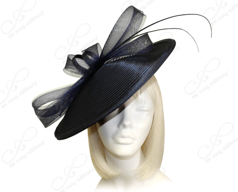 Profile Dome-Dish Headband Fascinator - 2 Colors
