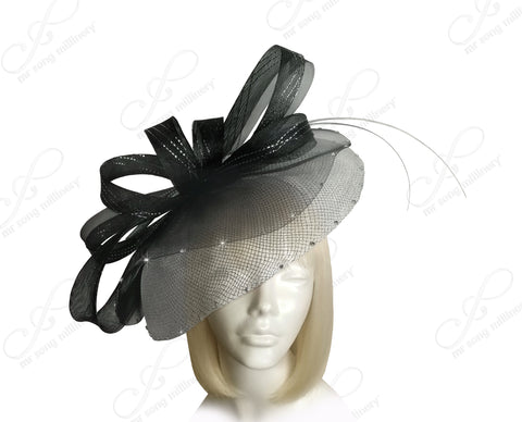 Profile Dish Headband Fascinator - 3 Colors