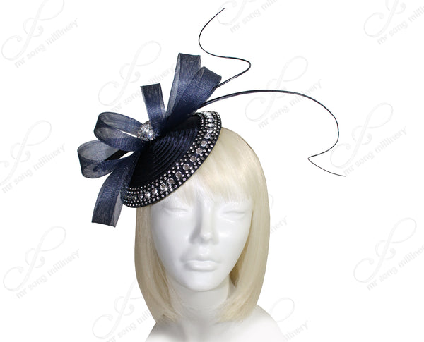 Mr. Song Millinery All-Season Profile Petite Dish Fascinator Headband - 2 Colors