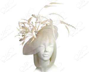 Mr. Song Millinery All-Season Sinamary Profile Crin Headband Fascinator - 2 COLORS
