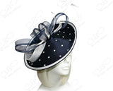 All-Season Profile Dish Headband Fascinator - 5 COLORS