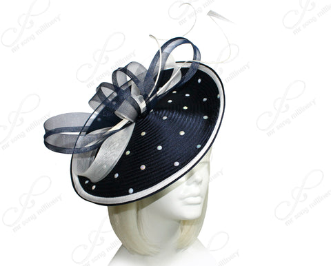 Mr. Song Millinery All-Season Profile Dish Headband Fascinator - 5 COLORS
