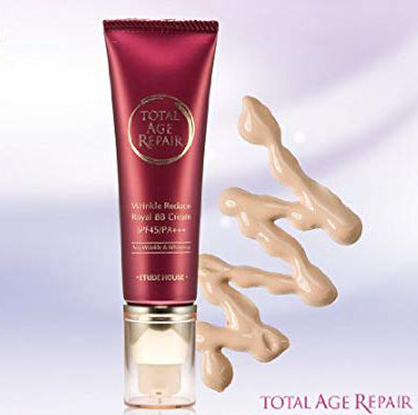 Mr. Song Millinery Total Age Repair Wrinkle Reducing Royal BB Cream SPF 45+ PA+++ - Etude House