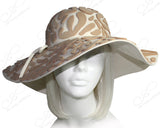 Soft Felt Wide Brim Floppy Hat - 4 Colors
