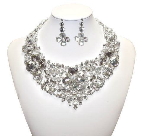 Necklace Jewelery & Earrings - Crystal