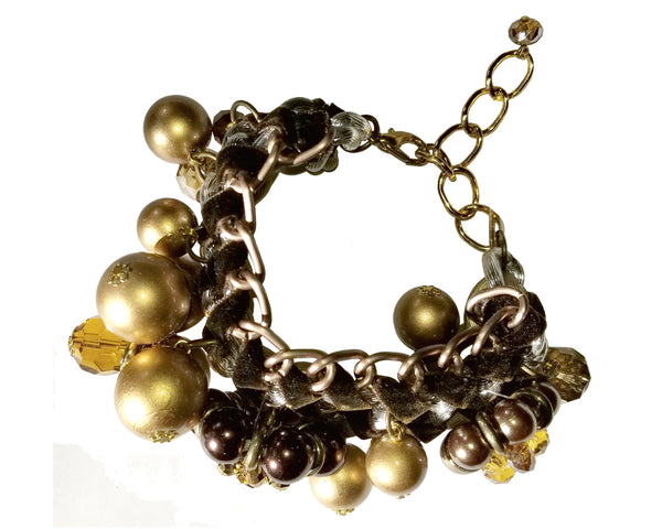 Mr. Song Millinery Multi Texture Bracelet - 4 Colors