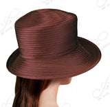 Medium Turned-Up Brim With Simple Accent - Assorted Colors