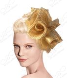 Crin Hair Fascinator Headband - 10 Colors