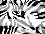 Zebra Print Satin Scarf Wrap - Assorted Colors